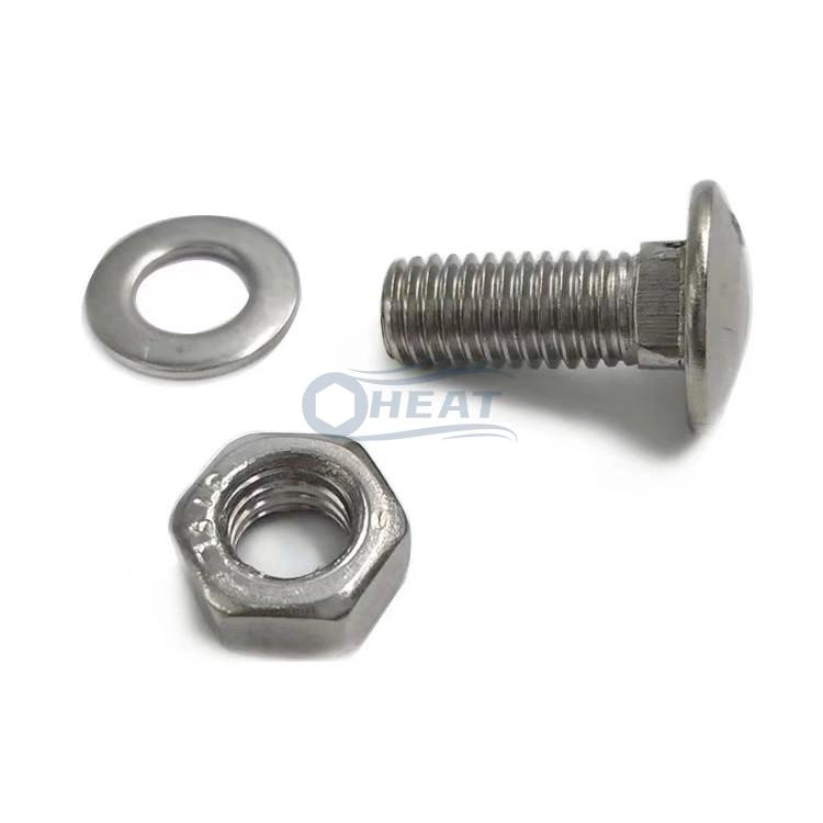 Custom large head carriage bolts nut manufacturer