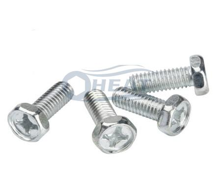 Hexagon phillips machine screw bolt