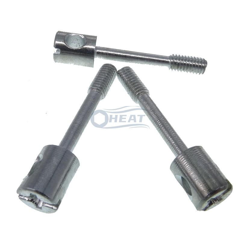 Stainless steel Phillips Drilled Head Capstan Sealing Screws