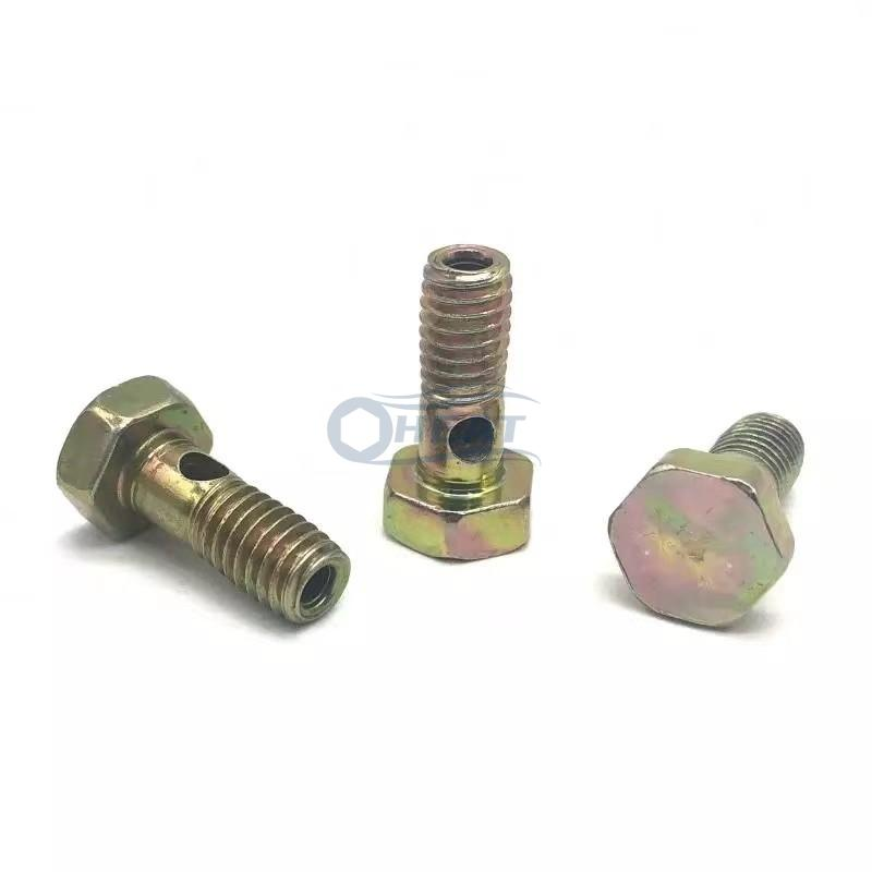 Steel Metric Banjo Bolt threaded hollow bolt wholesale