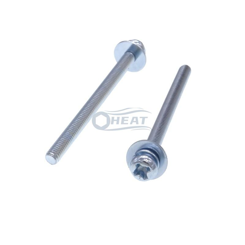 double washer phillips pan head machine screws supplier