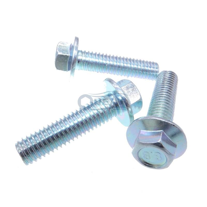 flange hex washer head bolts factory